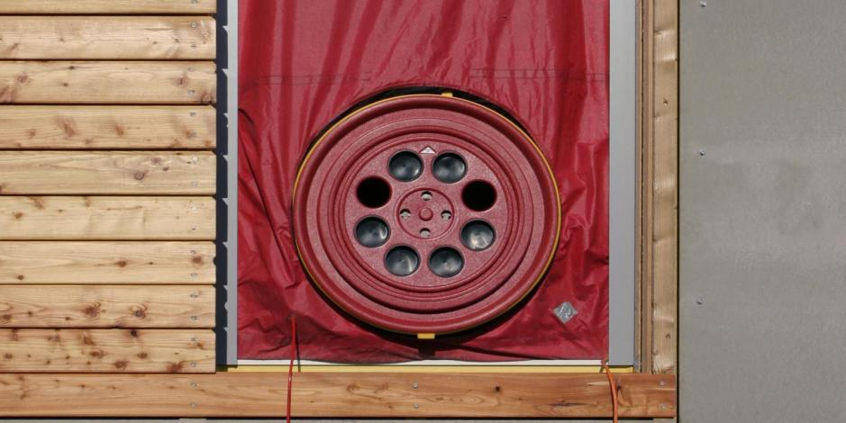 blower door testing energy audit