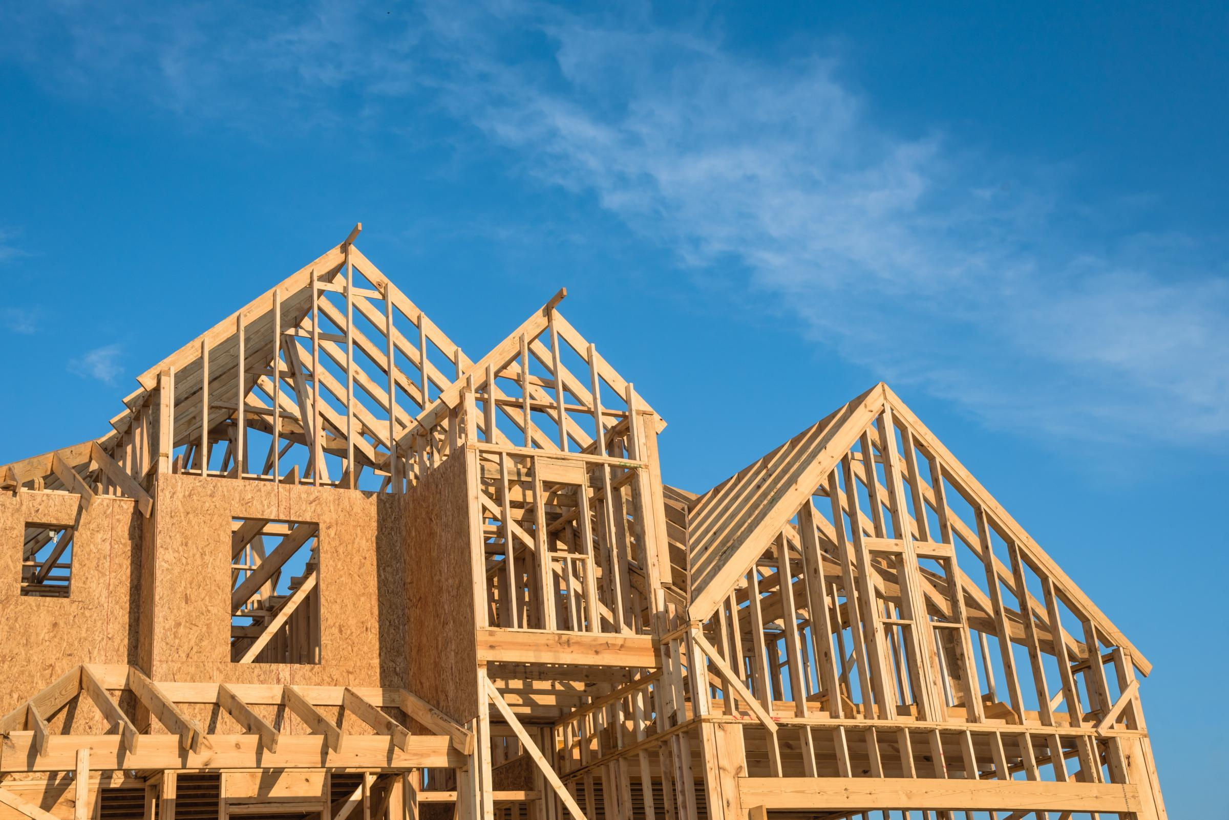 framing construction of a home